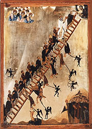 Orthodox Icon of the Ladder of Divine Ascent
